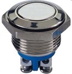GQ16F-11E-12V metal push button