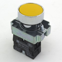 XB2-BA51 22mm reset (ON) - OFF round push button switch SPST pushbutton