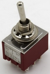 MTS-303 3PDT toggle switch toggle switch