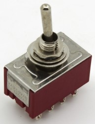 MTS-402 4PDT toggle switch